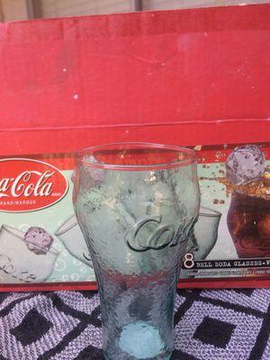 Coke Glasses 7 for Sale in La Palma, CA