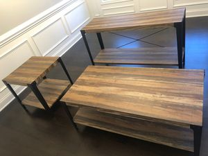 3 Piece Coffee Table Set for Sale in Taylors, SC