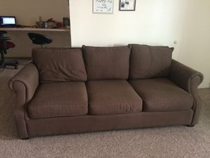 Couch + armchair for Sale in Spanish Fork, UT