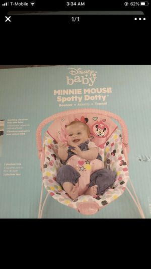 Minnie Mouse bouncer for Sale in Las Vegas, NV