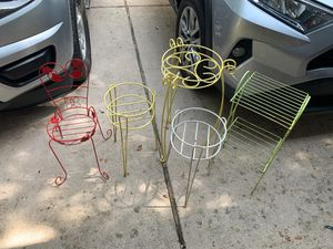 Metal plant stands for Sale in Cedar Park, TX