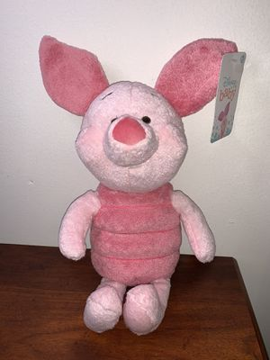 Disney Baby 14 Inch Piglet Plush Winnie The Pooh Stuffed Animal NEW for Sale in Miami, FL