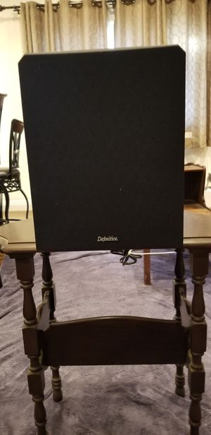 Definitive Technology powerfield Subwoofer DT0031-37843 for Sale in Santa Monica, CA