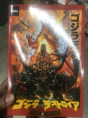 """Godzilla Classic Series '95 Burning Godzilla Action Figure 12"""" Head to Tail NECA Great Finds From the NECA Vault for Sale in Gaithersburg, MD"""