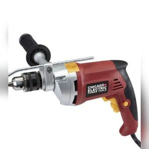 Chicago Electric 1/2in heavy duty hammer drill reversible variable speed. for Sale in PA, US