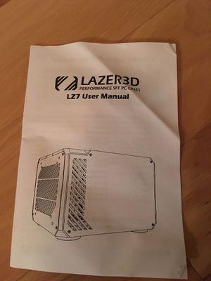 Lazed lz7, mini itx case for Sale in Denver, CO