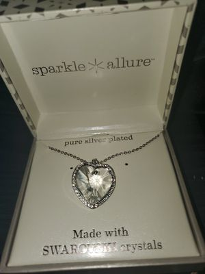 Sterling silver heart necklace for Sale in Houston, TX