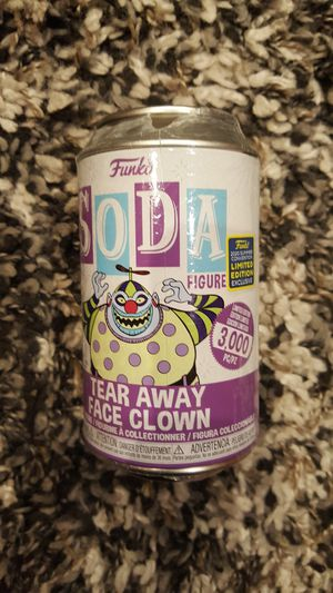 Nightmare before Christmas tear away face clown funko soda for Sale in Chino, CA