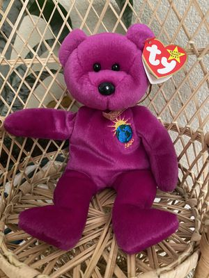 Ty Beanie Baby Millennium Bear Rare Tag Errors for Sale in Las Vegas, NV