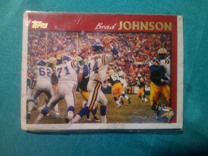 Brad Johnson's baseball card for Sale in Columbus, OH