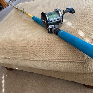 Penn Jigmaster Reel With Sabre Classic Stroker Rod for Sale in El Cajon, CA
