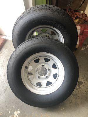 Trailer tires (2) for Sale in Miami, FL