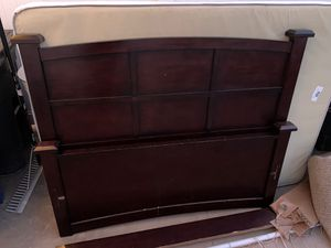 FREE - Kids Bed Frame Brown Espresso Wood Color for Sale in Orange, CA