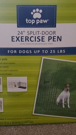 """Top Paw 24"""" Exercise Pen for Sale in Garland,  TX"""