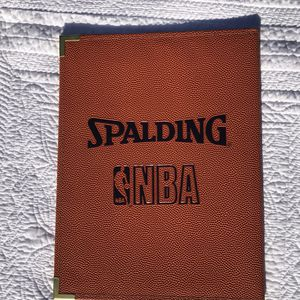 Spaulding NBA Basketball Leather Pad Holder / Portfolio for Sale in Albany, OR