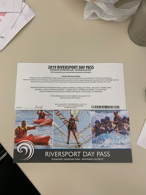 2019 rivers port day pass (2) for Sale in Norman, OK