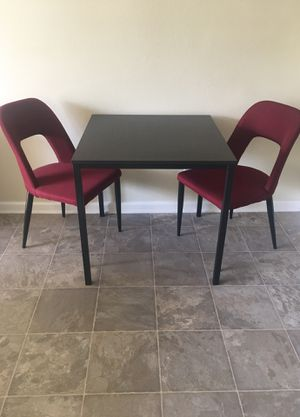 Dining Table and Two Chairs for Sale in Los Angeles, CA