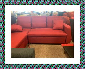 Red sectional for Sale in NEW CARROLLTN, MD
