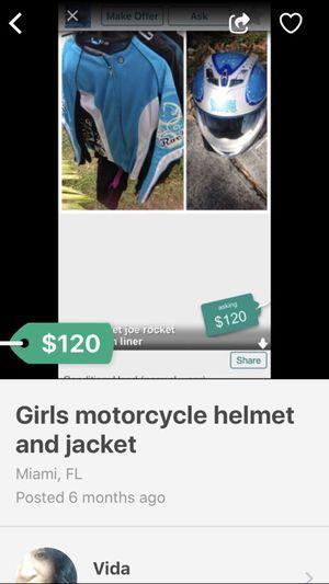 Girls motorcycle gear for Sale in Homestead, FL