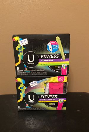 U by Kotex compact fitpak tampons set for Sale in Hamburg, NY