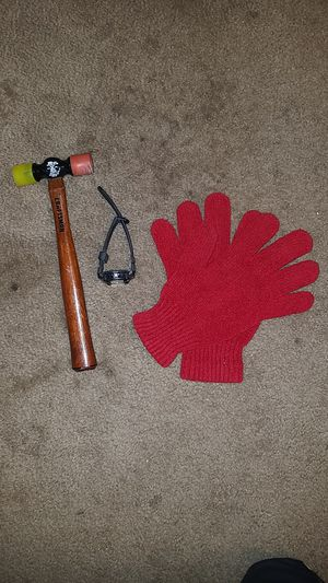 Craftsmen Hammer, Watch, and Red Gloves for Sale in Arcadia, CA