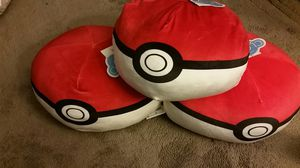 Pokemon pokèballs travel pillows set for Sale in Jacksonville, FL