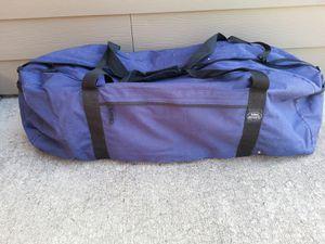 Large duffel bag large heavy duty duffle bag great for traveling heavy duty zipper nice carrying handle for Sale in Kalama, WA