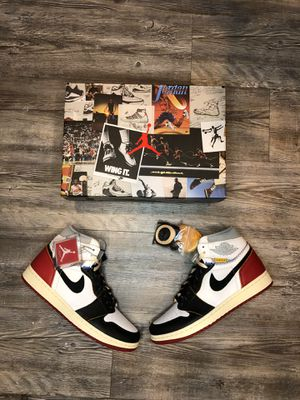 "Jordan 1 ""Union"" Black toe for Sale in Phoenix, AZ"