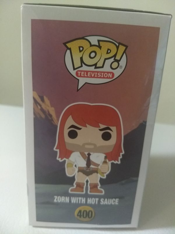 Pop Television Son Of Zorn 3.75 Inch Action Figure - Zorn With Hot Sauce #400