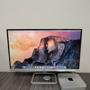 Mac Mini 2.6 GHz (Late 2014) With Wireless Keyboard, Track pad, And Monitor for Sale in Miami, FL