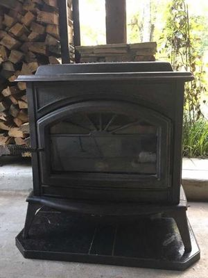 Cast Iron Gas Fireplace with logs and hearthpad for Sale in Atlanta, GA