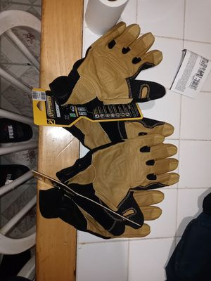 Ironclad Ranchworx industrial gloves large and XLarge both pairs for 35$ for Sale in South Houston, TX