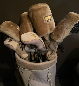 Golden Bear Golf Clubs w/ Bag and Sleeves for Sale in Chatsworth, CA