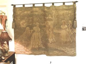 "Wall tapestry 75"" x 55"" good condition for Sale in Longview, TX"