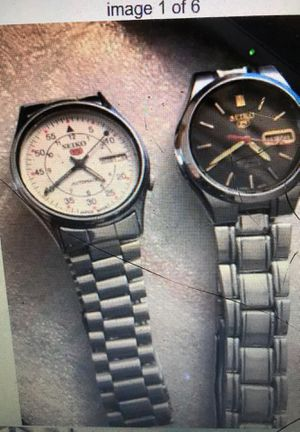 Seiko 17 Jewel day, date Automatic each $60 for Sale in Staten Island, NY