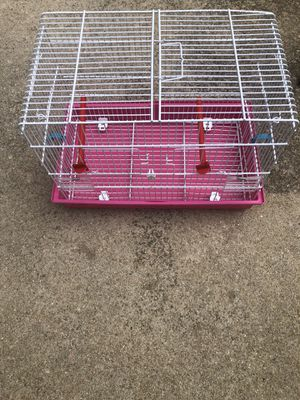 Pink bird cage for Sale in Raleigh, NC