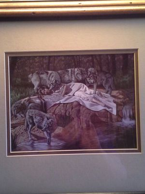 Indian Maiden with Wolves for Sale in Nashville, TN