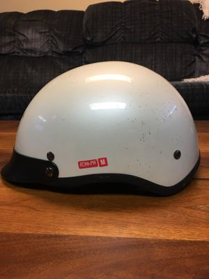 White Motorcycle Helmet for Sale in West Valley City, UT