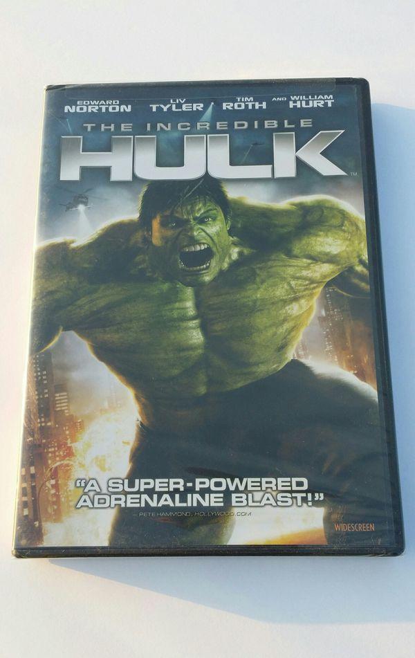 The Incredible Hulk 2008 DVD Brand New Unopened