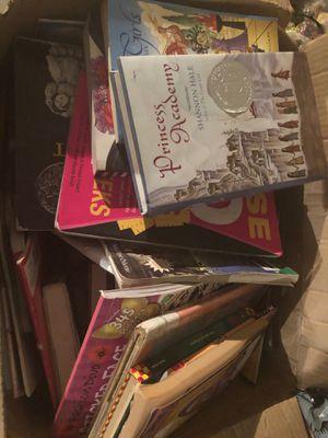 Box of books for Sale in Moreno Valley, CA