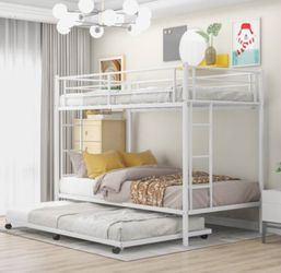 Bunk Bed With Trundle for Sale in Garden Grove,  CA