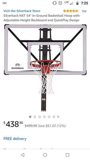 Brand New NXT Silverback basketball hoop for Sale in Glendale, AZ