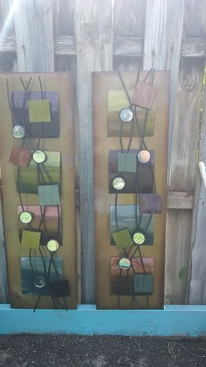 Metal home decor for Sale in Port St. Lucie, FL