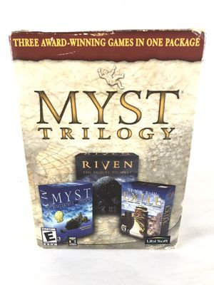 Myst Trilogy for PC- SEALED for Sale in Eustis, FL