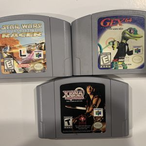 Nintendo 64 Games for Sale in Beaumont, CA