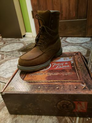 Tony Lama Steel Toes Work Boots for Sale in Durham, NC
