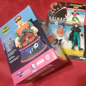 Robin DC Comics Retro Collection, 1993 action figure, 2014 Robin bust, Rare Make an Offer for Sale in Long Beach, CA
