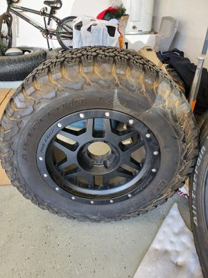 Rims and Tires 17 inch for Sale in Phoenix, AZ