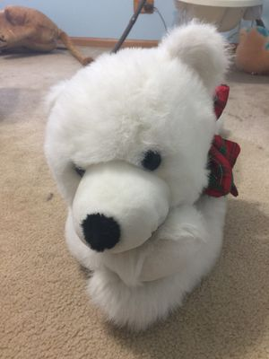 White polar bear all new stuffed toy for Sale in Aurora, IL