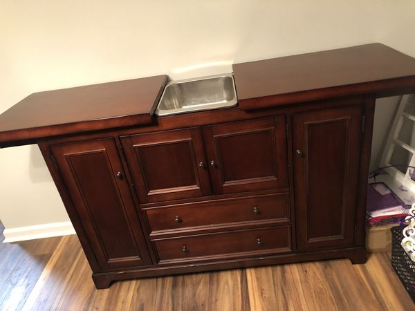 Pottery Barn Bar Cabinet / Buffet